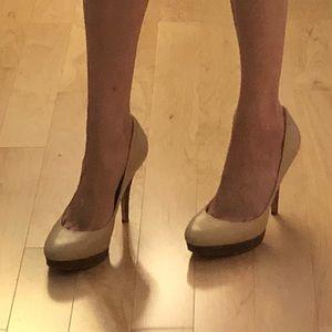 Coach Leather platform heels / pumps